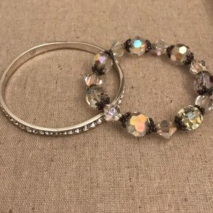 Bundle of Brighton and crystal bracelets